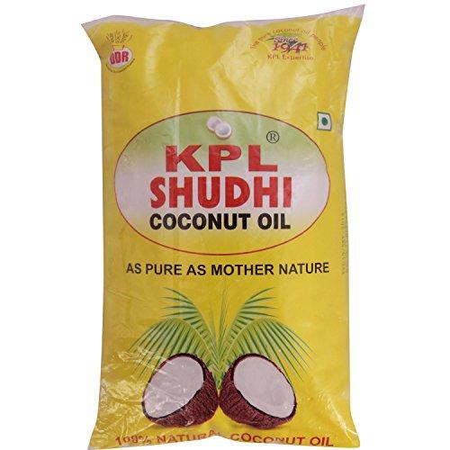 KPL Shudhi Coconut Oil, 1L Pouch