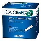 Calcimed D3 500 mg/1000 I.e. Direct Granulat 60 stk