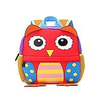 Vahome® School Bag Kids Backpack Childrens Rucksack Cute Animal Designs School Bag Rucksack (Owl Plus)
