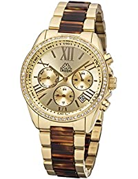 9b507a7f07 Kappa Women's Watch with Metal Band Date Day GMT KP 1413L D