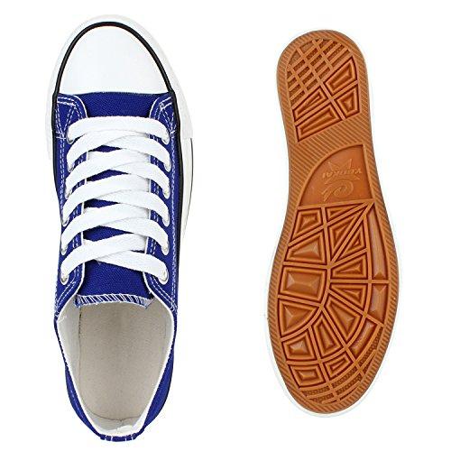 Damen Sneakers Spitze | Denim Sportschuhe Strass | Stoffschuhe Blumen Prints | Textil Schuhe | Sneaker Low Blau