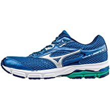 Mizuno Shoes Running Officially Wave Legend 3 J1GC151005 Royal Argento Verde Scuro Size 45 SHIPPED FROM ITALY