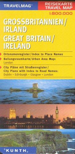 Hildebrand's Urlaubskarten; Hildebrand's Travel Maps, Nr.80, Großbritannien, Irland (Europe)