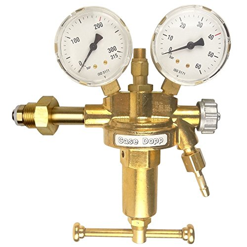 Gase Dopp Druckminderer Druckluft 200bar Pressluft für Druckluftflasche Pressluftflasche 0-40 bar