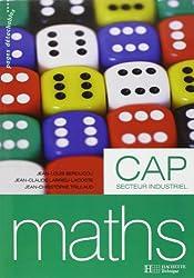 Maths CAP secteur industriel