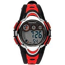 Hiwatch Relojes Deportivos Impermeable para los Niños/Niñas Reloj de Pulsera Digital a Prueba de
