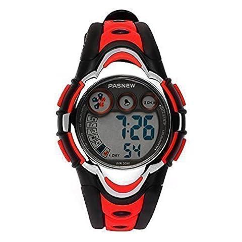 Hiwatch Montre de Sport Imperméable avec Réveil Chronomètre et Calendrier
