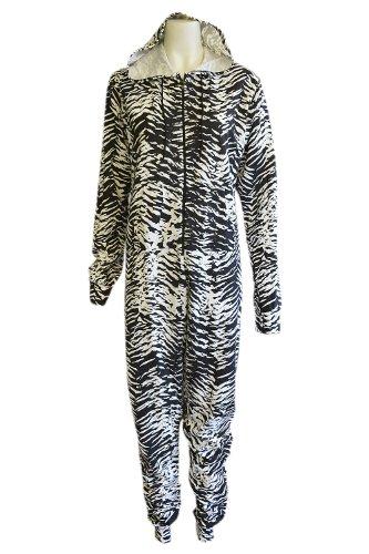 Vitageclothing - Combinaison - Femme Multicolore - Zebra Print