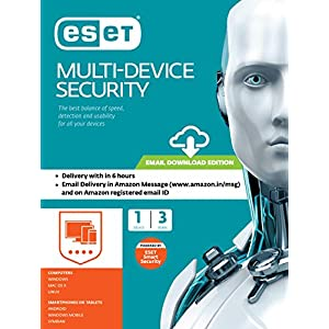 Eset Internet Security 2020 MultiDevice (Windows/Mac/Android/Linux) – 1 User, 1 Year (Email Delivery in 2 Hours – No CD)