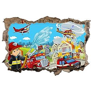 Wandtattoos Kinderzimmer Feuerwehr Heimwerker Markt De