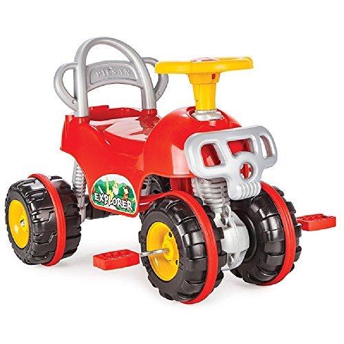 Pilsan pilsan07813Pedal Bedient Explorer ATV Spielzeug - Baby-pedal-traktor