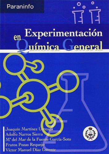 Experimentación en química general por MARÍA DEL MAR DE LA FUENTE GARCÍA SOTO