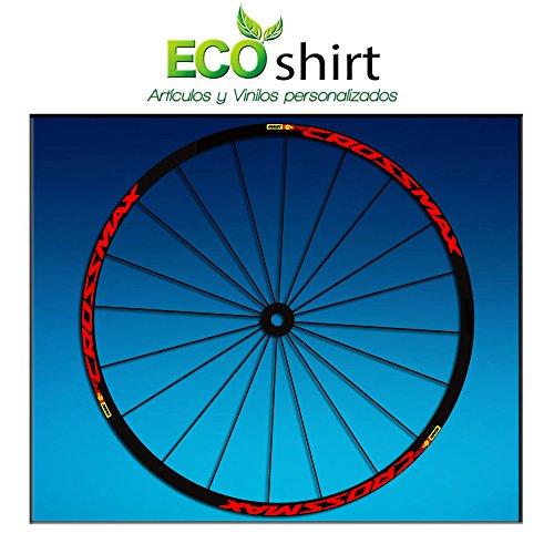 Ecoshirt Z2-XOKQ-02SK Pegatinas Stickers Llanta Rim