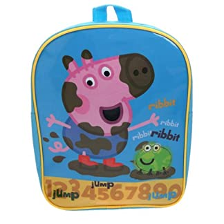 Peppa Pig – Mochila escolar George (Trade Mark Collections PEPPA001239)