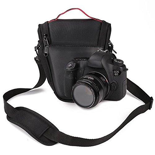 Hanbaili Borsa fotografica, custodia per fotocamera reflex digitale compatta DSLR per Canon serie Sony