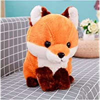 FEJK Soft Cute Long Tail Fox Plush Toy Stuffed Kids Doll Gift For Children Birthday Gift Home Shop Decor 40Cm