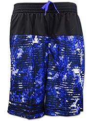 Adidas Horizon Short de Basket Infinite série Noir/Violet Graphic 2x L