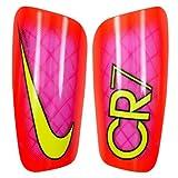 Nike CR7 Mercurial Lite - Schienbeinschutz Unisex, Rosa (pink Blast/total Crimson/Volt), L