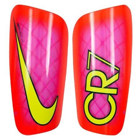 Nike CR7 Mercurial LITE - Schienbeinschutz Unisex, Rosa (pink Blast/total Crimson/Volt), M