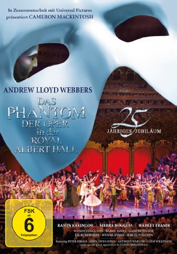Oper Phantom Der Das (Das Phantom der Oper in der Royal Albert Hall (25th Anniversary Edition,)