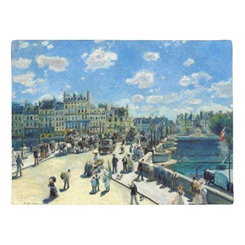 ailovyo-renoir-pont-neuf-paris-fine-art-en-caoutchouc-antiderapant-entree-moyen-exterieur-interieur-