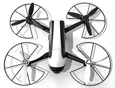 Klickmontage Propellerschutz (Bumper, Stoßfänger) für Parrot Bebop 2.0 (schwarz) von 3D printed Gadgets