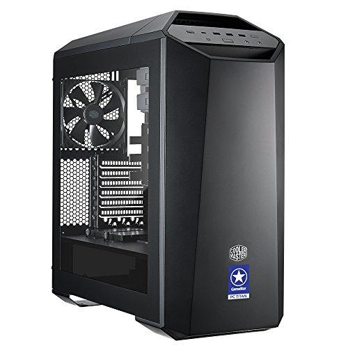 ONE GameStar-PC Titan Z · Intel Core i7-7820X (8 x 4.30GHz) · 11 GB NVIDIA GTX1080 Ti · 32GB RAM · 1000GB SSD + 4000GB HDD · ASUS TUF X299 MARK 2 · Windows 10 Home · Leiser Gaming-PC · VR Ready