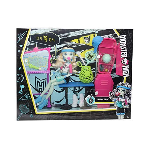Mattel Monster High Frankie Stein Playset Vestuario,, mt-dxy09