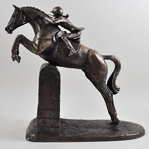 New Lady Show Jumper Bronze Pferd Skulptur von Harriet Glen 27cm hoch (33709)