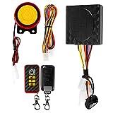 LeaningTech LTC ® Wasserdichte Motorrad Fahrrad Anti-Diebstahl Sicherheit Alarmanlage System Horn Alarm Warner mit Fernbedienung 125dB