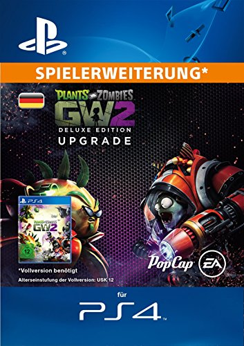 Plants vs. Zombies Garden Warfare 2: Deluxe Upgrade DLC [PS4 PSN Code - deutsches Konto] (Plants Vs Zombies 2)