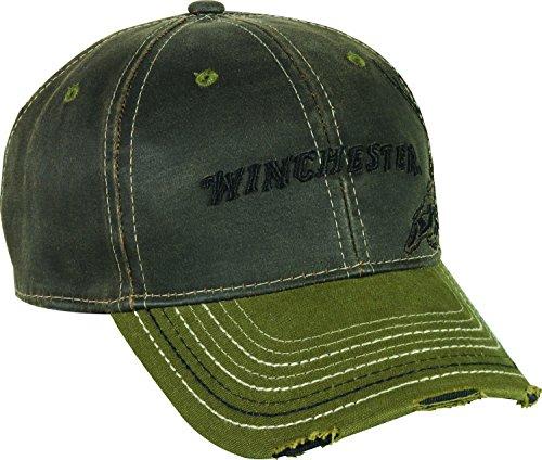 winchester-2-tone-weathered-cotton-cap-dark-brown-olive