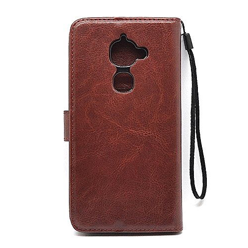 Bracevor LeEco Le2 Premium Leather Case *Inner TPU, Wallet Stand, Flip Cover – Executive Brown