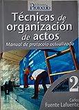 Tecnicas De Organizacion De Actos (Area De Formacion)