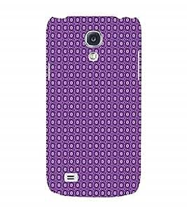 Fuson Designer Back Case Cover for Samsung Galaxy S4 I9500 :: Samsung I9500 Galaxy S4 :: Samsung I9505 Galaxy S4 :: Samsung Galaxy S4 Value Edition I9515 I9505G (Purple design Purple Circles Purple Squares Purple rectangles Connecting Circles)