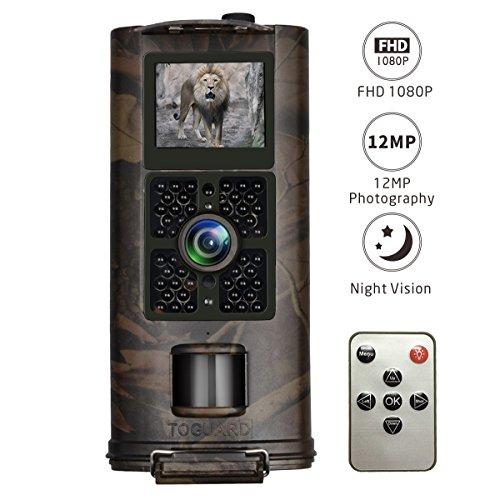 Wildkamera 1080P, TOGUARD 12MP Full HD Jagdkamera...