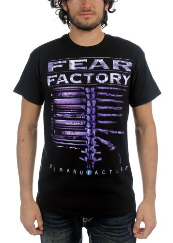 Fear Factory -  T-shirt - Uomo, nero, Large