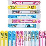 MOKIU 12pcs Notfall-Armband Kinder Sicherheits Armband Notfallarmbänder zum Beschriften für Kinder Wasserdicht