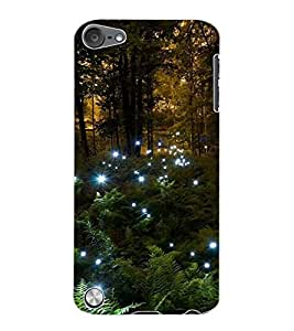 ColourCraft Forest Design Back Case Cover for APPLE IPOD TOUCH 5