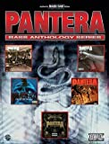 Pantera Bass Anthology Series Parental Advisory Authentic Bass Tab Edition by Pantera (2008) Sheet music