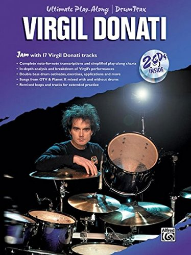 Virgil Donati: Ultimate Drum Play-Along (Book and 2cds) +CD (Ultimate Play-along)