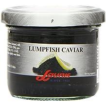 Launis Black Lumpfish Caviar 100 g (Pack of 8)