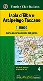 Isola d'Elba e Arcipelago toscano. Carta escursionistica del parco. 1:35.000