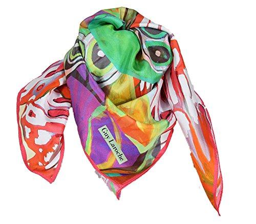 guy-laroche-carre-de-soie-papillon-fuchsia
