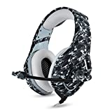 Best Pc Gaming Headsets - BINZI PC Camo Gaming Headset for PS4 XBOX Review