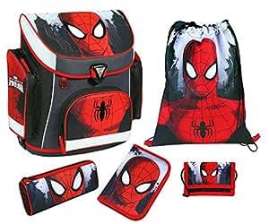 Scooli Campus P Schulranzen Set 5tlg. Spiderman