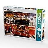 CALVENDO Puzzle F.D.N.Y. Feuerwehr New York 1000 Teile Lege-Größe 64 x 48 cm Foto-Puzzle Bild von Wilfried Oelschläger