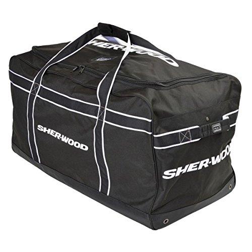 SHER-WOOD Team Carry Bag - 90 x 50 x 43 cm Black/Orange