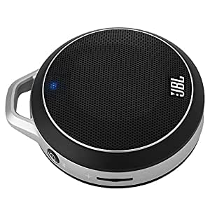 JBL On Tour Micro Wireless Ultra Portable Rechargeable Wireless Bluetooth Speaker with 3.5mm Jack - Black (discontinued by manufacturer)