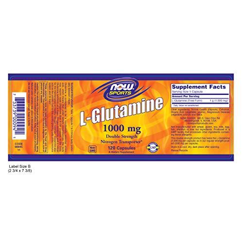 Glutamine 1000 mg 120 Capsules